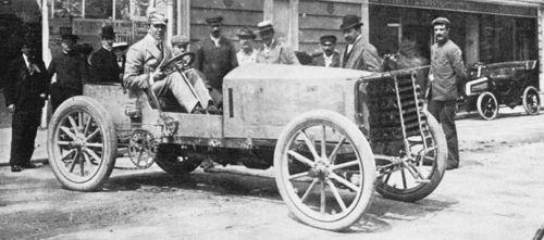 1903 paris-madrid - charles jarrott (de dietrich) 4th 1