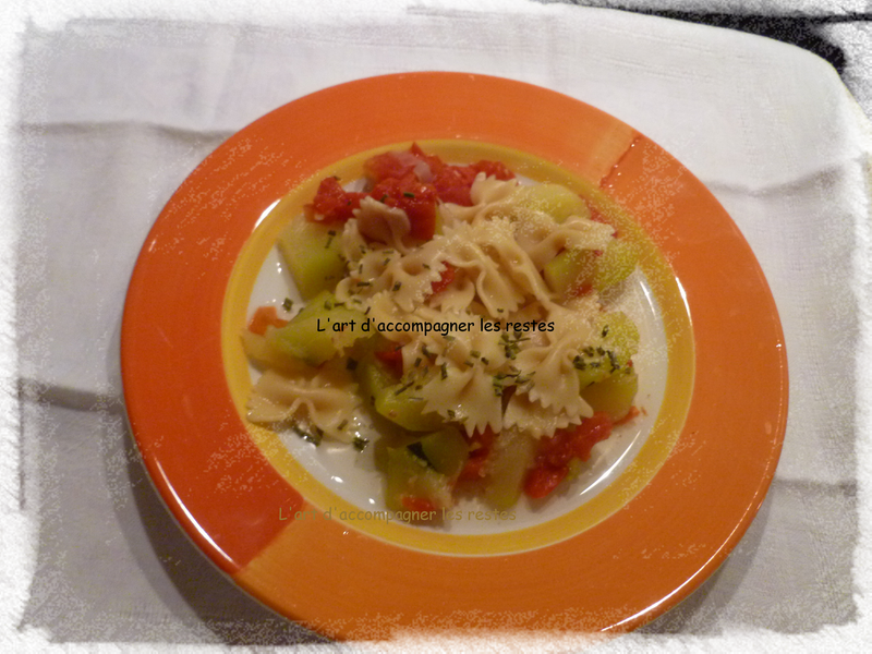One pot pasta tomatre courgette1