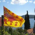 Poher Flag at the Adriatic Coast.
