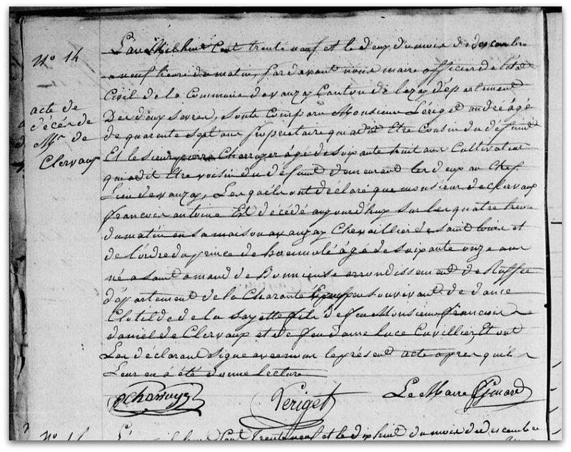 décès 1839 z