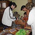 Stages de filage, teinture, feutrage à peronne (rectificatif)