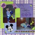 Calins avec Mickey