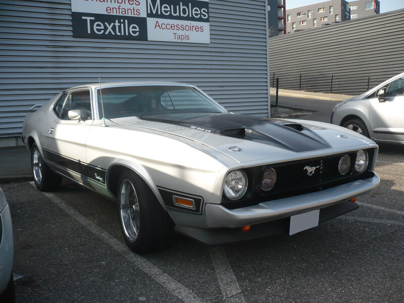 FORD Mustang Mach 1 fastback coupé Mulhouse (1)