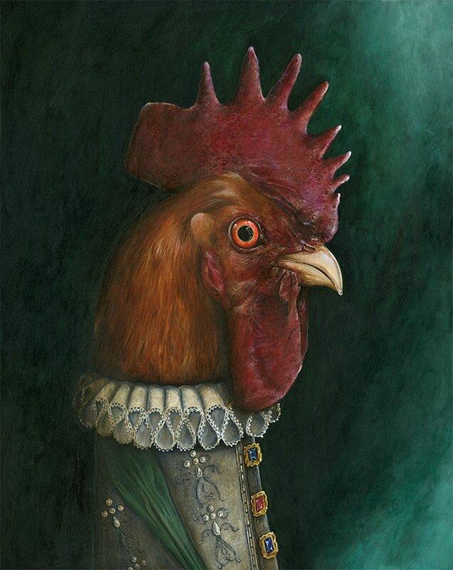 King coq Henri Coquatre is finish