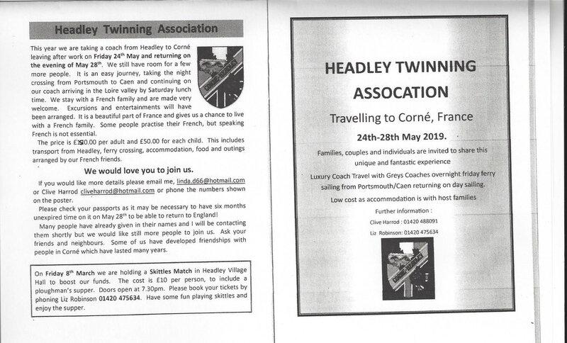 bulletin Headley