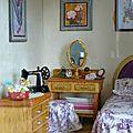 Case créole : chambre des parents