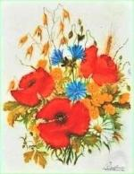 disparition des bleuets marguerites coquelicots bouquet tricolore