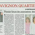 Forum 2011 les associatives îles de la barthelasse avignon
