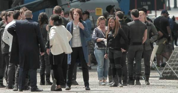 Movie set Divergent