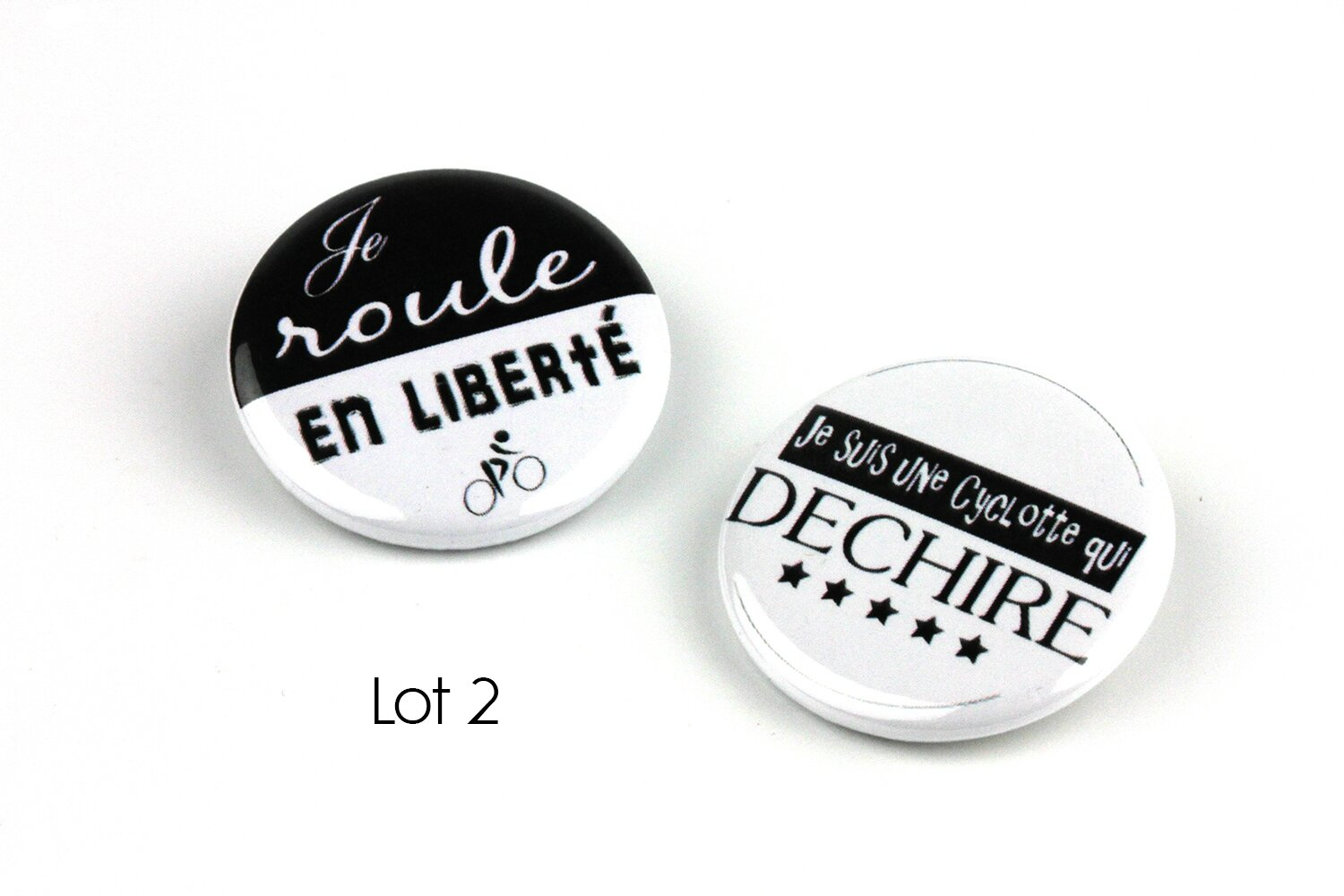 badges velo cyclotte