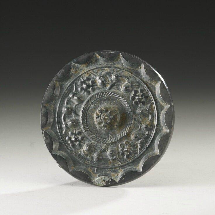A bronze 'Star Cluster' mirror, Han dynasty