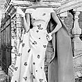 Sorelle fontana gown from the 1950s