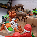 Playmobil noël 2018 animaux