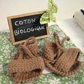 Modèle Athéna 3 mois coton bio