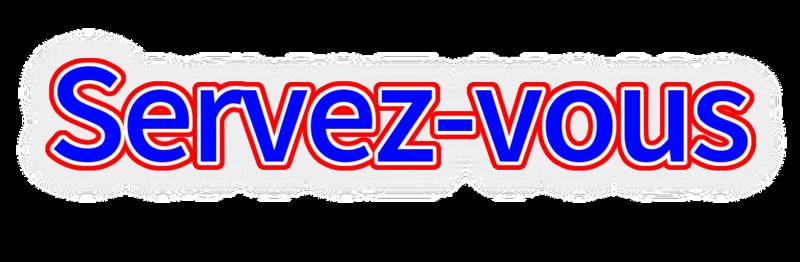 CHAISARD SERVEZ-VOUS
