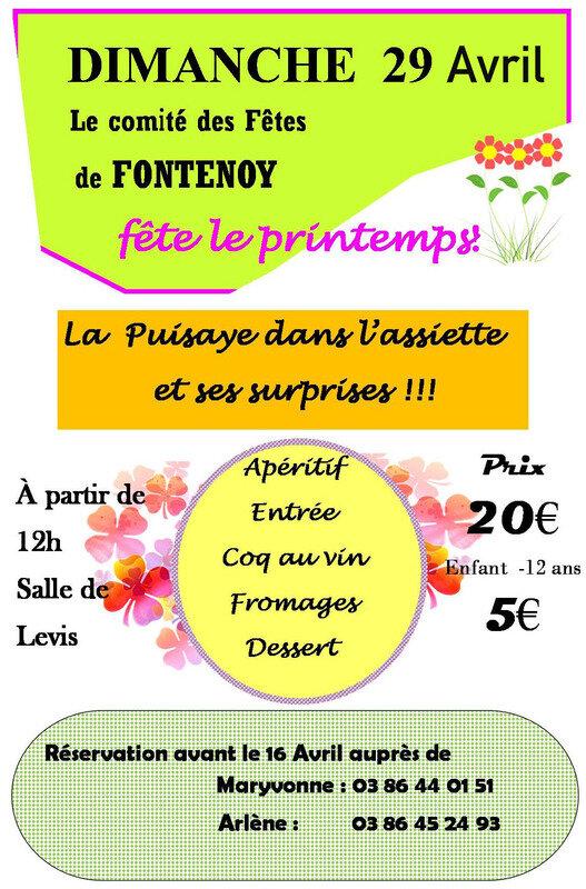 Comité des fêtes de Fontenoy