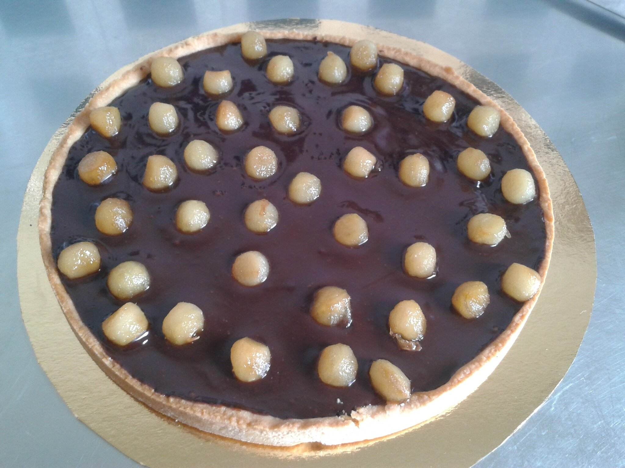 Tarte au chocolat (du chef Custos)