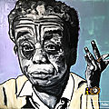 James baldwin 's oil painting portrait canvas 100x80cm 2019