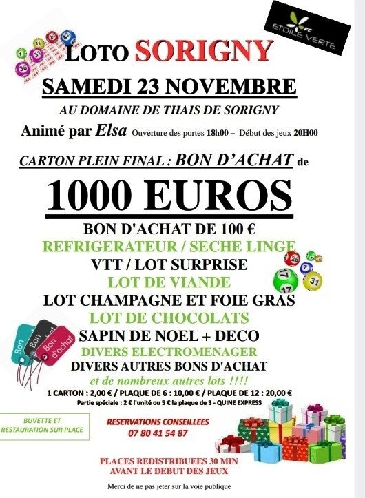 Loto foot 23 nov