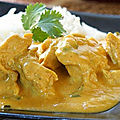 Poulet sauce curry et moutarde (au thermomix)