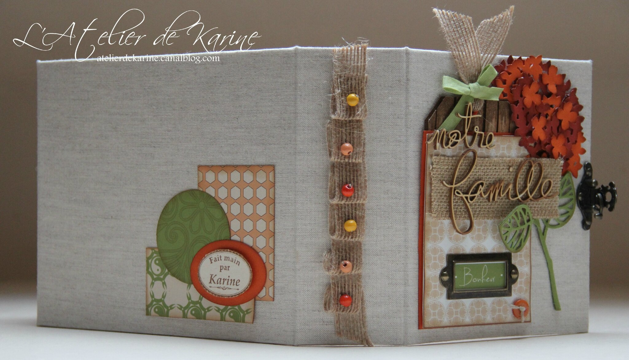 Mini Album et son coffret - Pure Lorelaïl Design 13