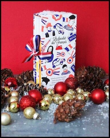 le chocolat des francais coffret 4 tablettes