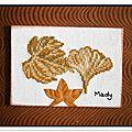 318 feuilles d'automne pour TORTUE