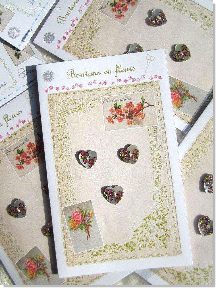 Boutons en fleurs Marimerveille. CarteTBC B10