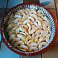 Clafoutis pommes châtaignes, sans gluten, sans lait