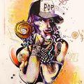 femme pop bonbon, expo graphik #3, rio de janeiro