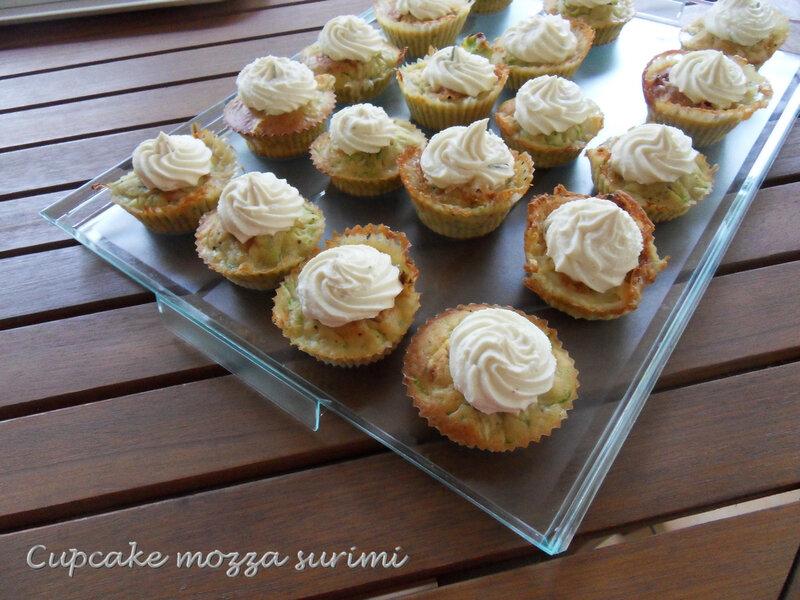 cupcake mozza surimi