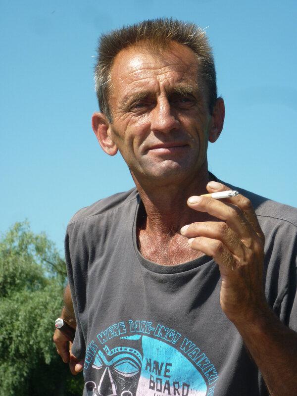 1-4 Viktor, pêcheur lipovène, Vilkovo (Ukraine)
