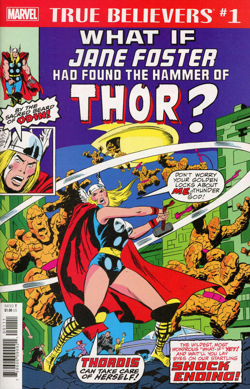 true believers what if jane foster had found the hammer of thor