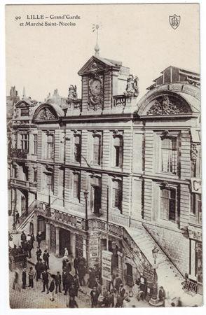 59 - LILLE - Marché Saint Nicolas