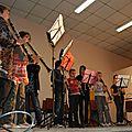 école de musique des Portes de la Thiérache à la salle des fêtes