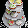 The cupcakes (pâte de base magique)