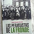 las periodistas La Fronde