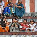 Varanasi, en famille
