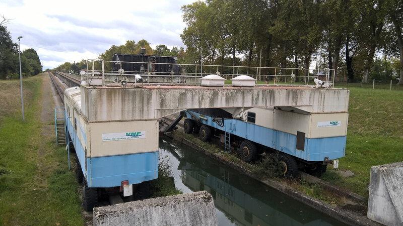 151 Vélo 2019 La pente d'eau (abandonnée) à Montech