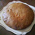Gâteau au yaourt à la confiture de cerise