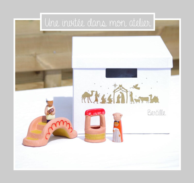 boite personnalisée-ranger sa crèche-cadeau de confirmation