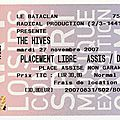 The hives - mardi 27 novembre 2007 - bataclan (paris)