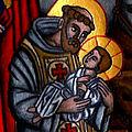Saint françois d'assise à greccio