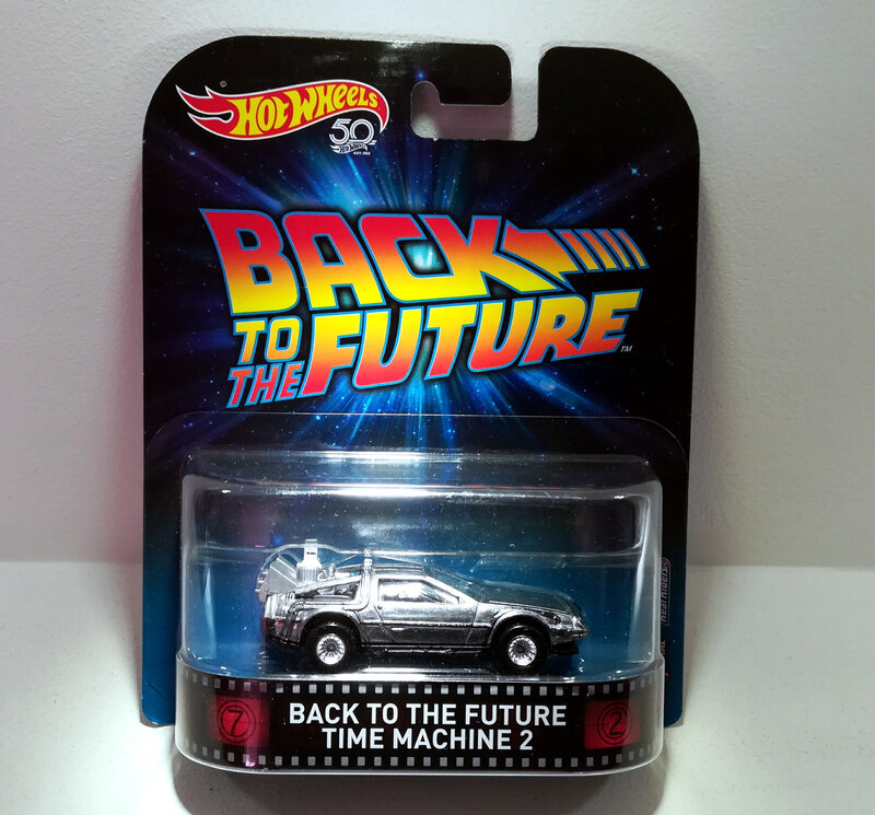 Back to The Future Time Machine 2 (Hotwheels)