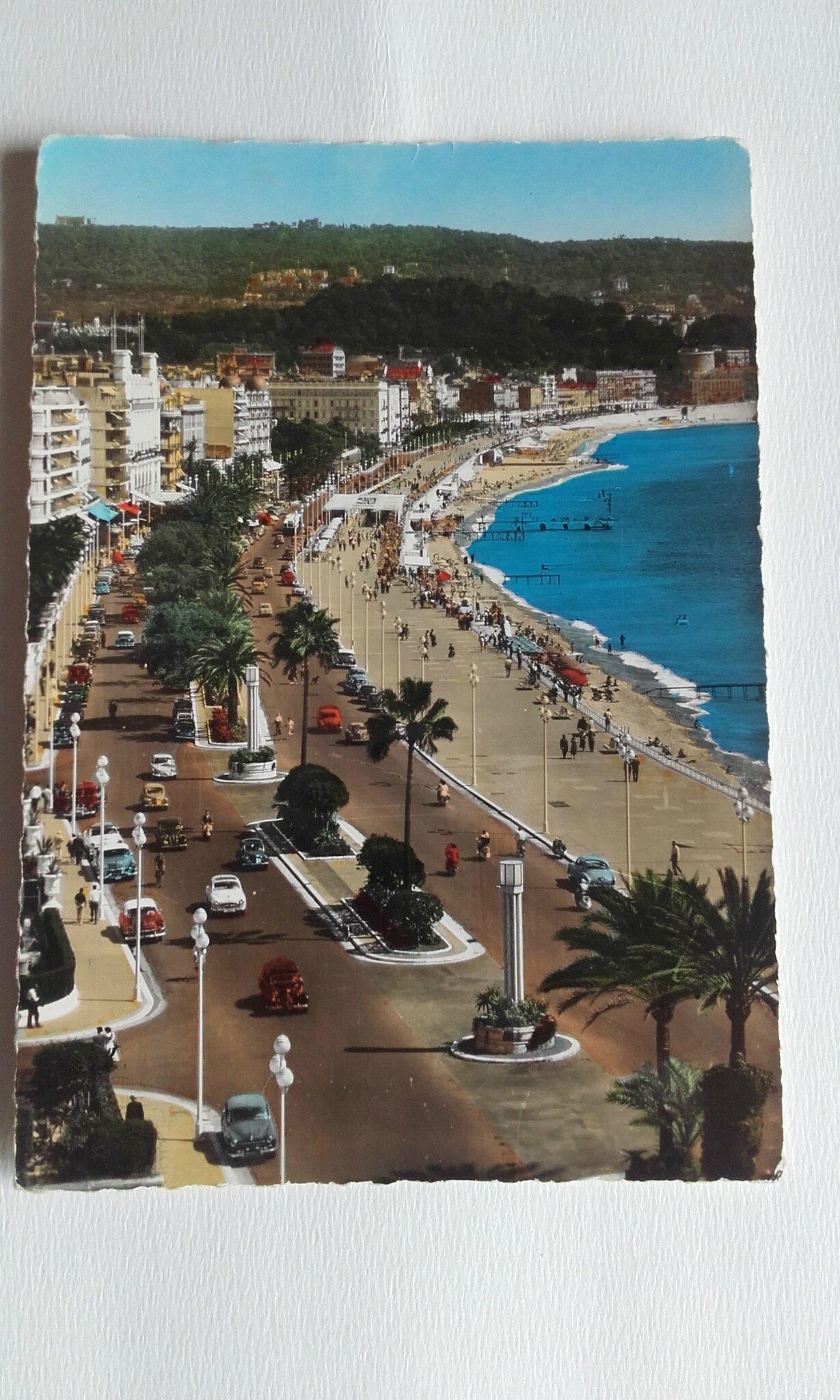 Nice 1 - la promenade des Anglais (datée 1960)