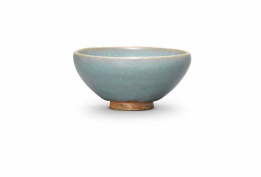 A small Jun blue-glazed bubble bowl, Northern Song-Jin dynasty (960-1234)