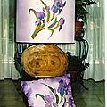 lampe de sol iris