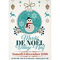 Noël 2016 à village neuf