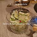 Ceviche de saint-jacques au fenouil