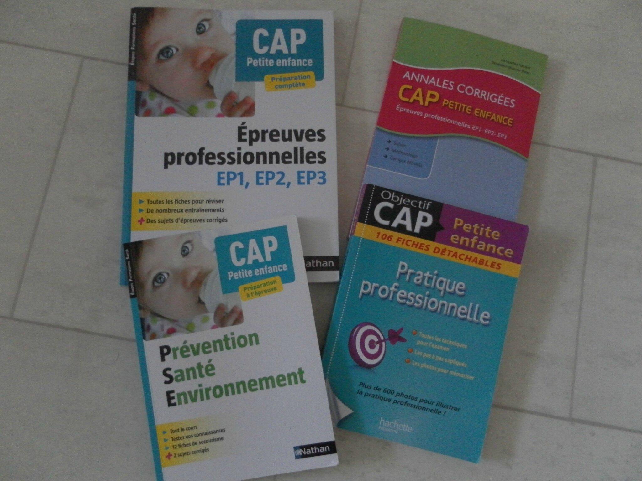 Livres Pour Reviser Le Cap Petite Enfance Assistante Maternelle
